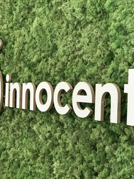 Innocent Drinks Moss Wall