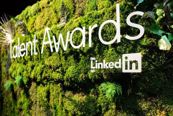 LinkedIn Moss Wall