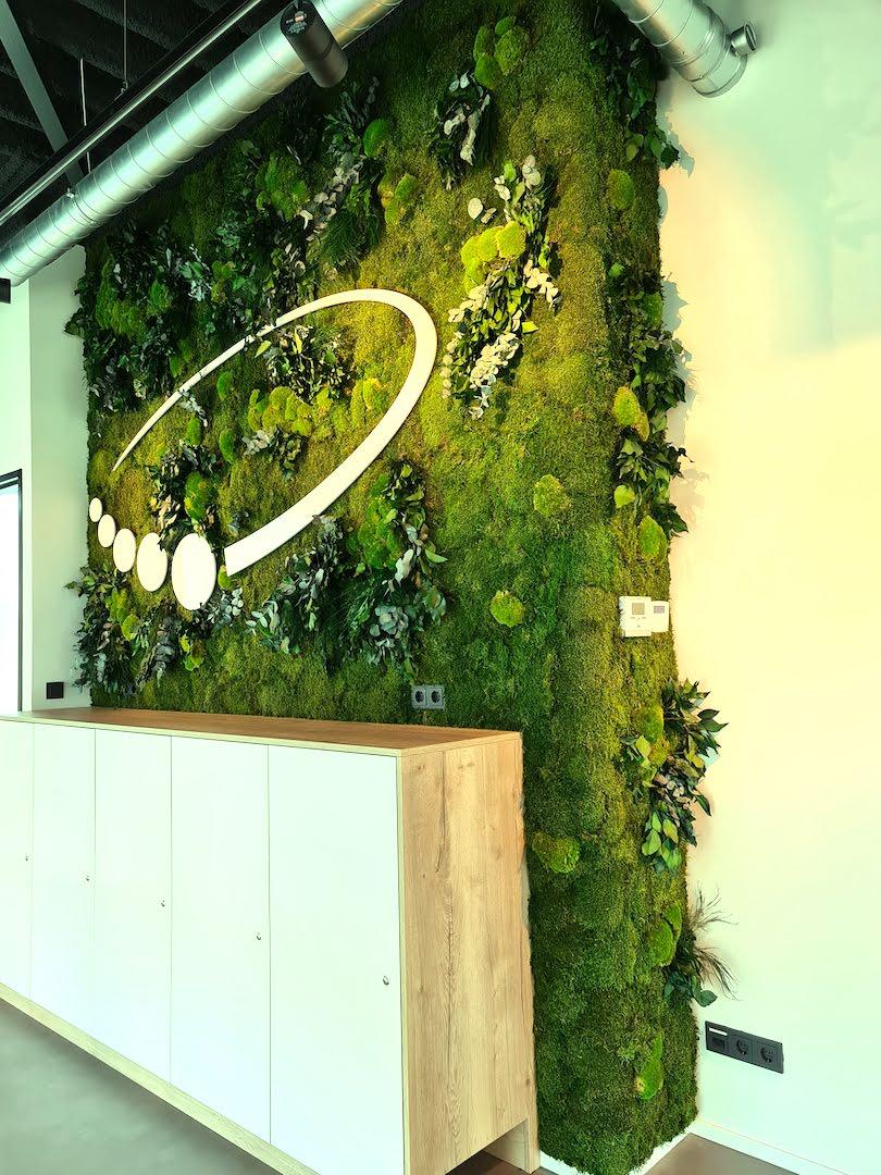 Jungle Moswand | Logo | Van Schaick Projectbegeleiding 1